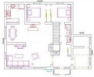 Американский чертеж двухэтажного дома из газобетона