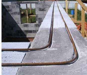 Армирование газобетона при многоэтажном строительстве.