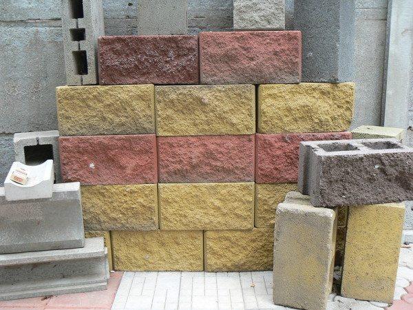 Блоки легкие с декоративной отделкой