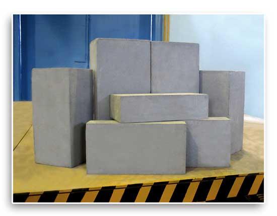 Блоки отличаются как по размеру, так и по качеству
