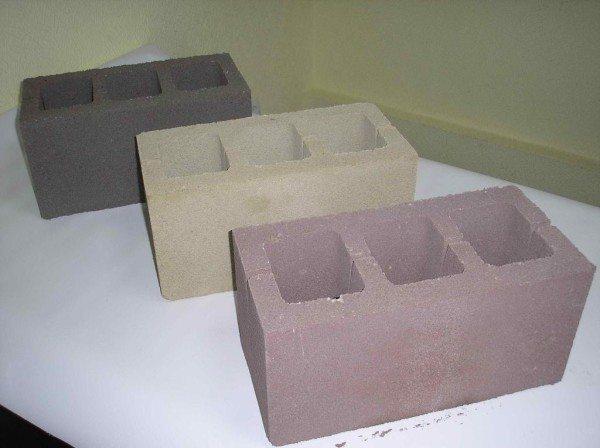 Блоки различаются между собой не только плотностью, но и цветами