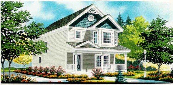 Дом с мансардой – красивая постройка на долгие годы