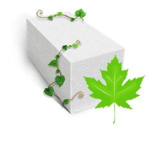 Экологичность пеноблока на 99% совпадает с экологичностью дерева