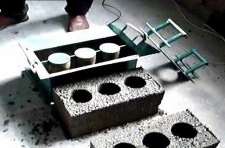 Форма для блоков