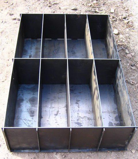 Форма для литья блоков.