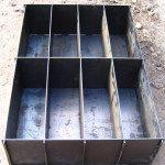 Форма для заливки блоков
