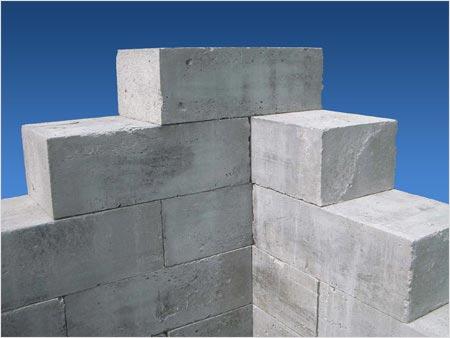 Фото блоков из пенобетона