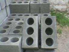 Фото стандартных шлакобетонных блоков