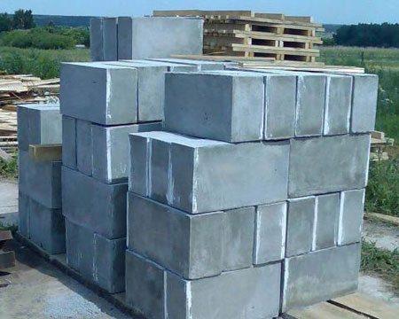 Газобетонные блоки, которые можно использовать для возведения домов