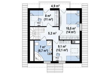 Имея на руках план здания, произвести подсчеты будет значительно проще.