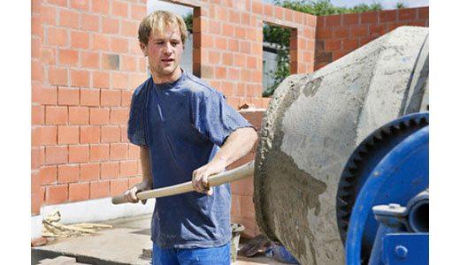 Кустарное производство предполагает применение обычной бетономешалки