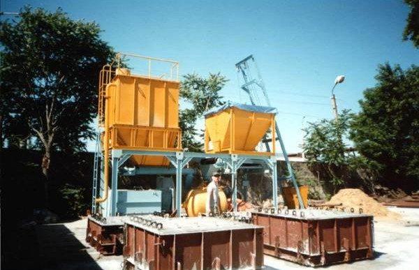 Мини-завод по изготовлению пеноблоков