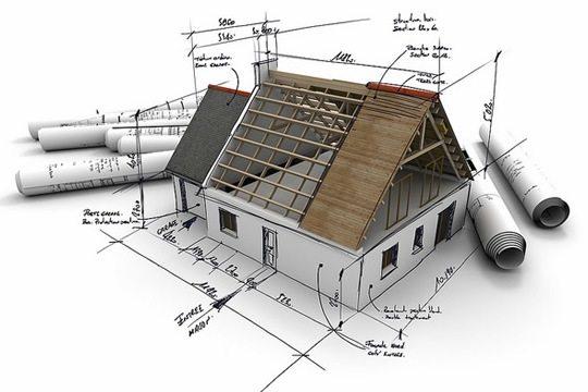 На фото – проектирование дачного домика