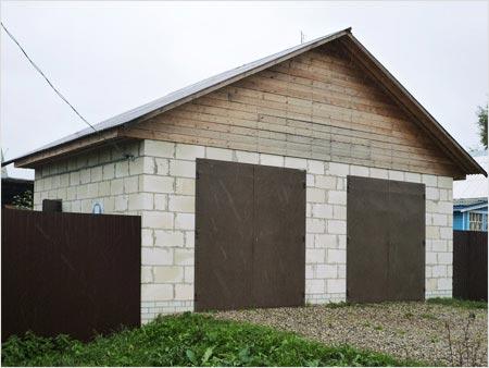 На фото - практичный вариант крыши