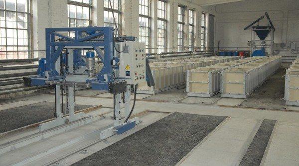 Налаженное производство пеноблоков
