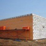 Наружное утепление стен из газобетона