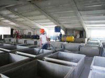 Непосредственный процесс производства газобетона