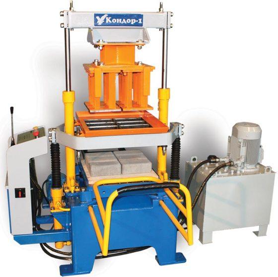 Оборудование для изготовления шлакоблоков для производства тротуарной плитки