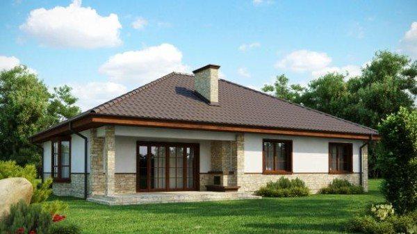 Одноэтажное строение