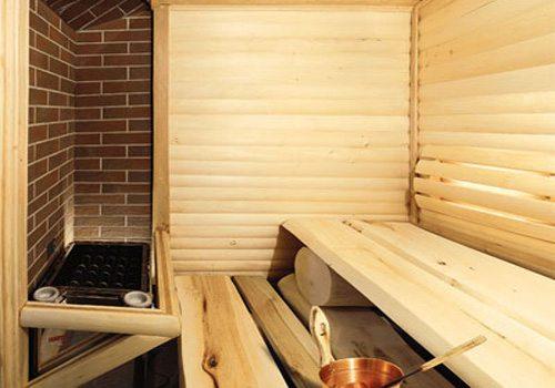 отделка стен деревянной вагонкой