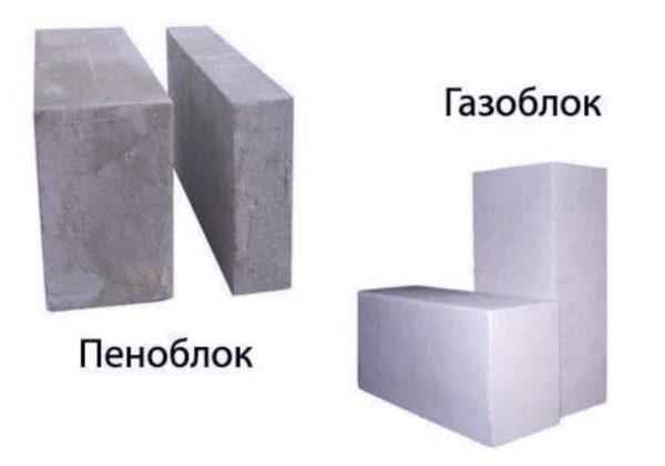 Пенобетон и газоблок представляют собой материалы, выполненные из ячеистого бетона