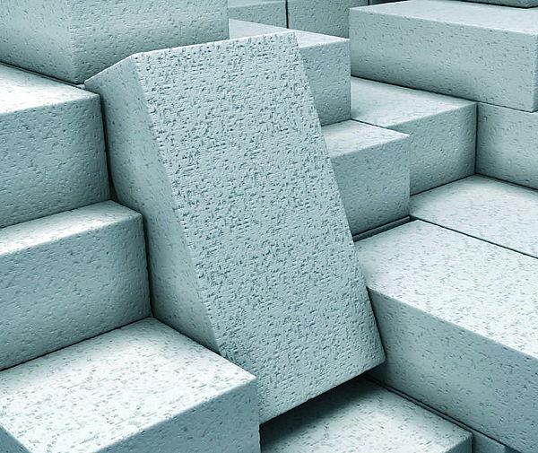 Пенобетонные блоки.