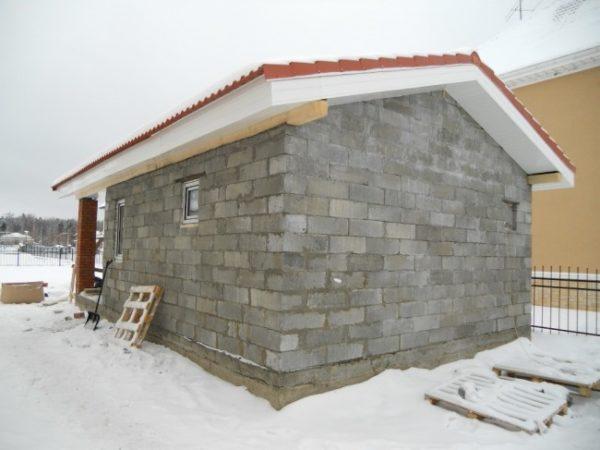Пенобетонный блок — отличный материал для строительства бани