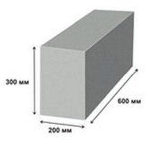 Пеноблок D600