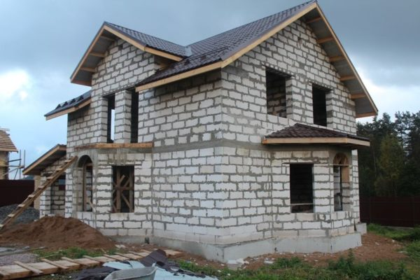 Пеноблок позволит сэкономить на строительстве дома