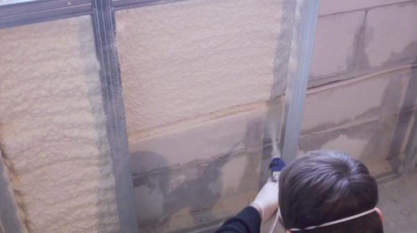 Пенополиуретан — напыляемый полимерный утеплитель
