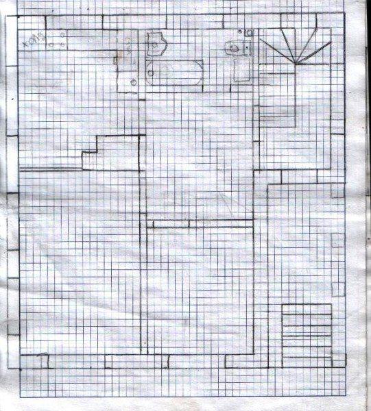 План дома: первый этаж