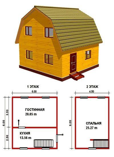 Пример проекта жилого дома