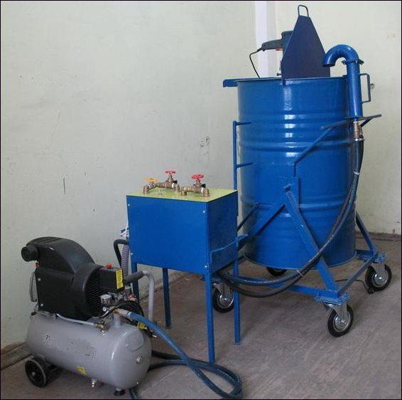 Пример установки для производства пенобетона