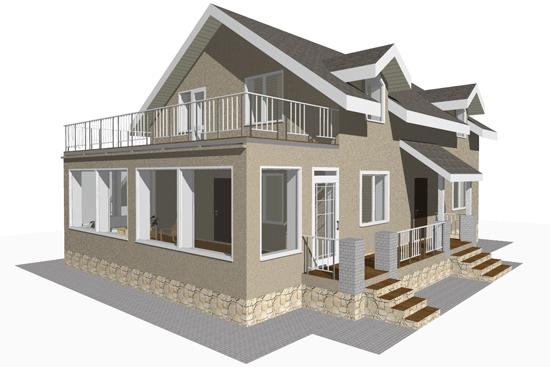 Проект дома из пеноблоков бесплатно - один из множества нашего портала