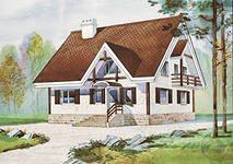 Проект уютного домика в европейском стиле