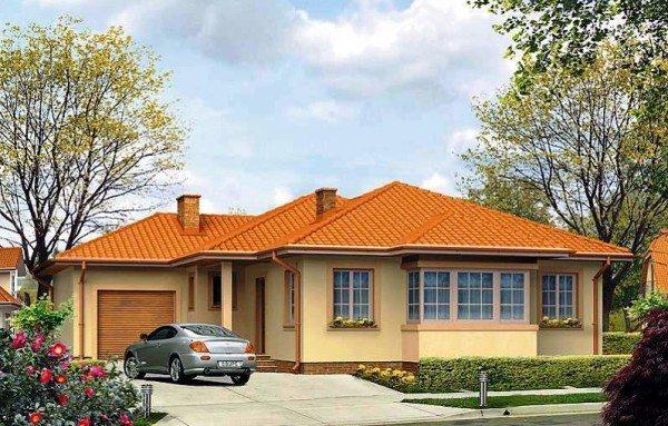 Проектное решение для одноэтажного дома