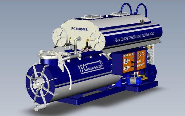 Промышленное оборудование, обладающее большой производительностью и качеством готовой смеси