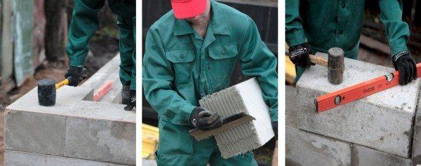 Работа каменщика требует определенных знаний и навыков