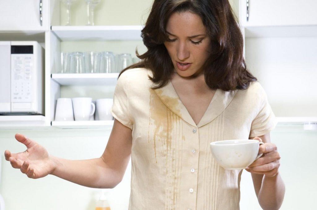 Как и чем вывести пятна от кофе и чая