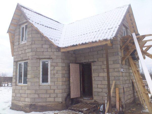 Результат аккуратной работы строителя