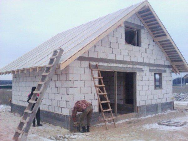 Результат строительства вас порадует, а сэкономленные средства пригодятся при отделке