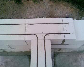 Садовые дома из пеноблоков требуют дополнительного укрепления – армирования