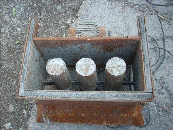 Самодельные формы для изготовления строительных блоков