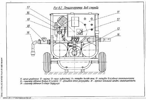 Схема пеногенератора.