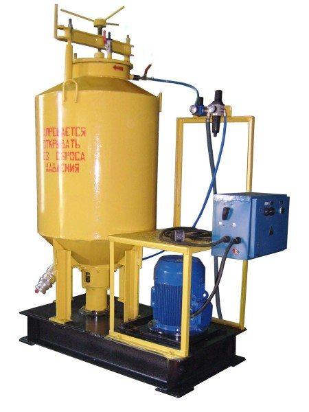 Современные установки для производства пеноблоков.