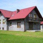 Современный дом из шлакоблока