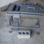 Стационарный станок для производства шлакоблока