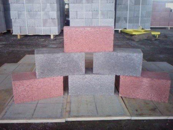Стеновые блоки: фото