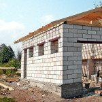 Строительство гаража из газобетона