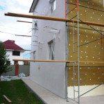 Утепление фасада дома из шлакоблока
